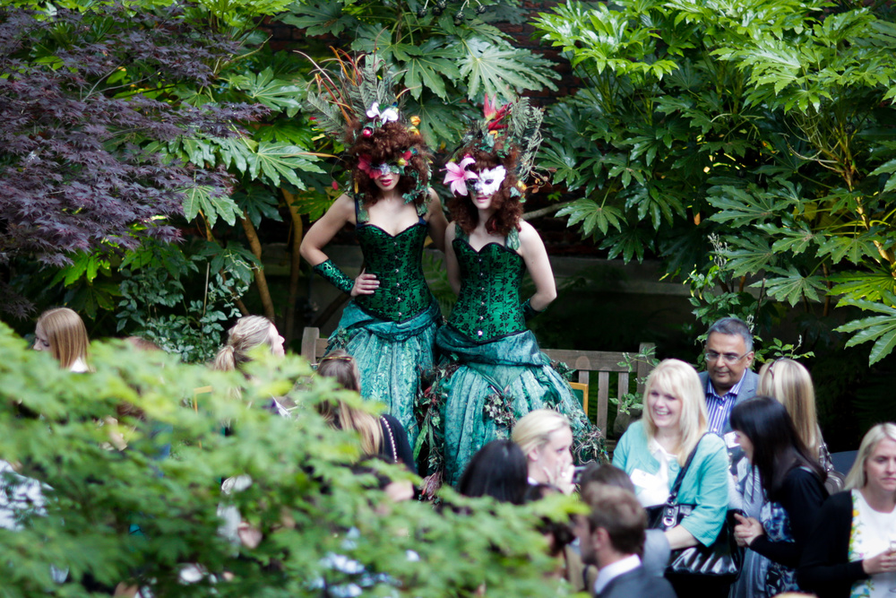 Garden entertainers